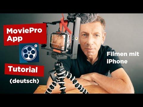 MoviePro Film App Tutorial deutsch - Tipps fürs Filmen mit der iPhone Kamera App!