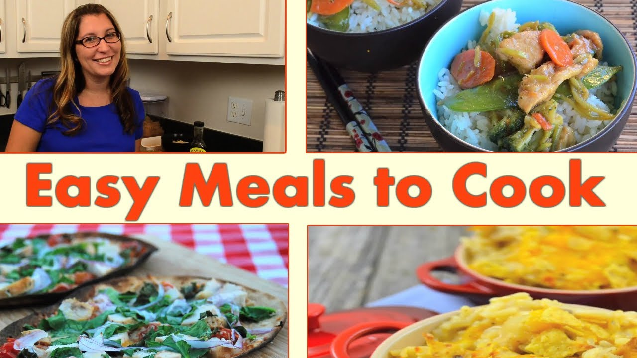3 Quick And Easy Meals To Make At Home Save Time In The Kitchen