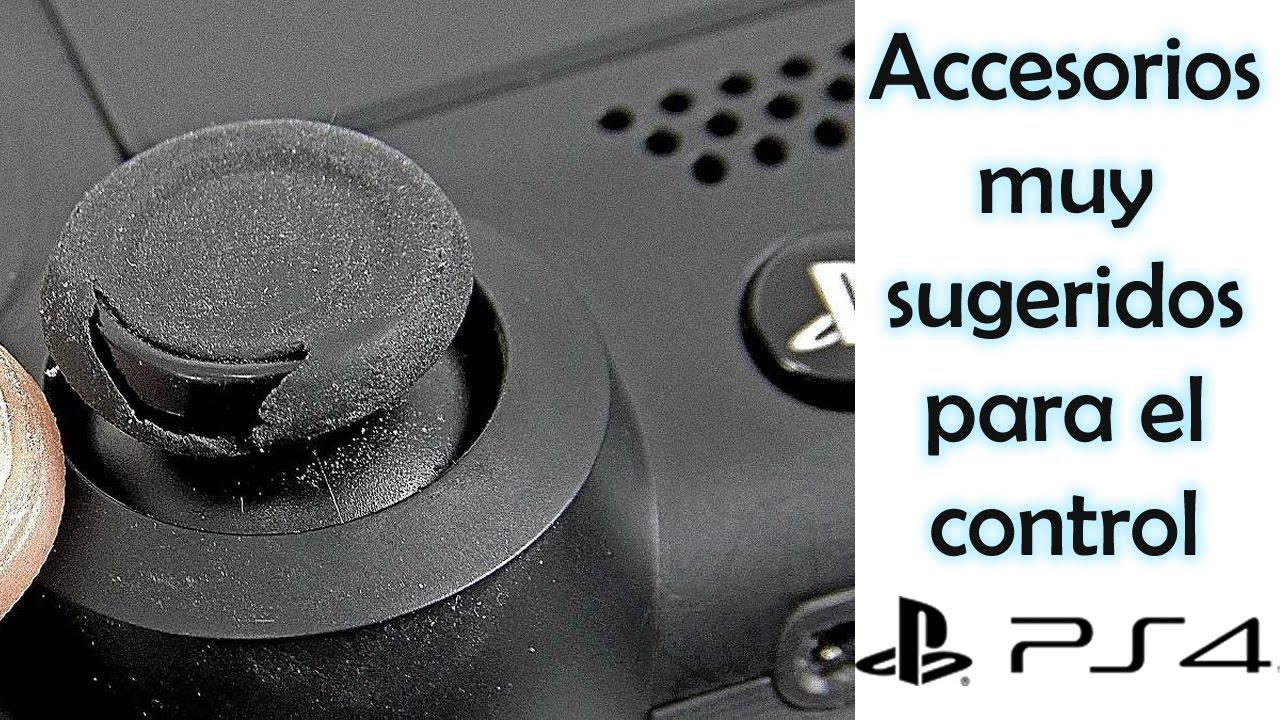 Accesorios indispensables para el control ps4 PlayStation