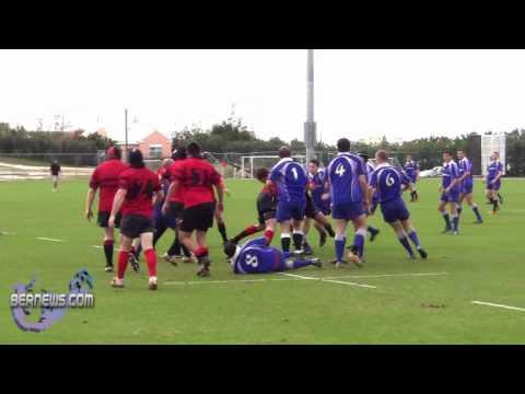 #2 Men's Rugby Police vs Teachers Bermuda Jan 30th 2011