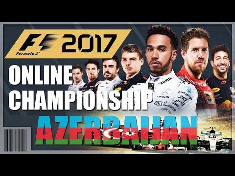 F1 2017 - Online Championship - AZERBAIJAN (Baku City Circuit) - PS4