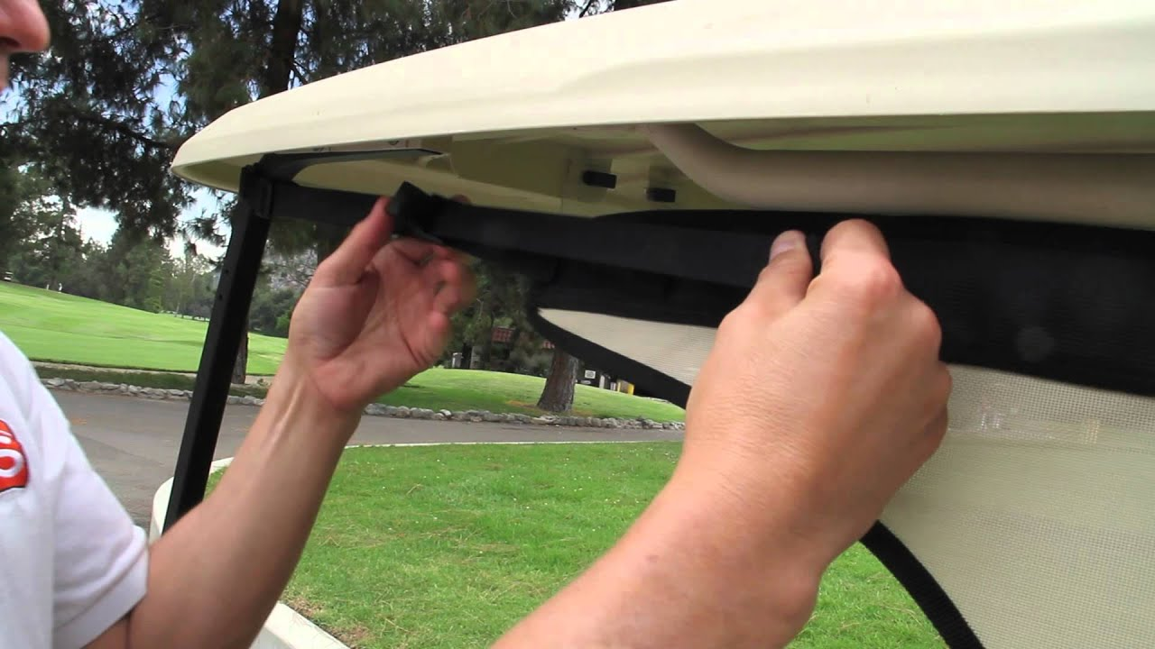 Shadys Portable Golf Cart Enclosure Shadys Traveler