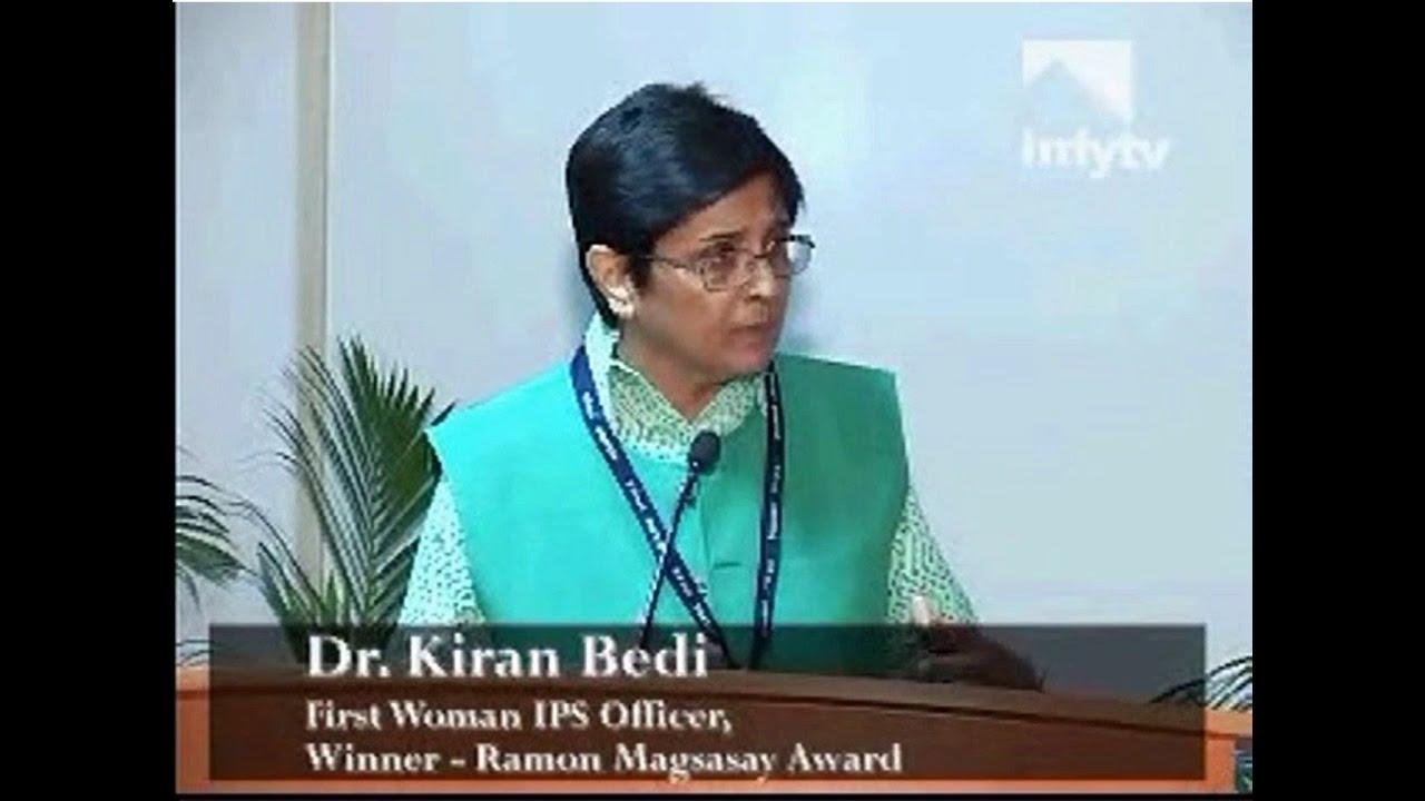 Inspiring Speech By Dr Kiran Bedi For All Working -6805