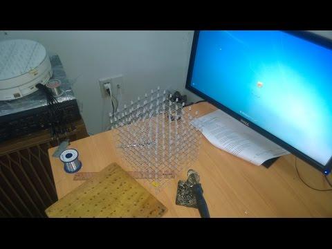 Hướng dẫn lên khối cho led cube 8x8x8