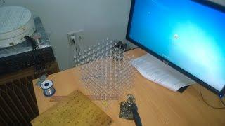 Hướng dẫn lên khối cho led cube 8x8x8(Công đoạn cuối cùng , ráp khung , dựng khối , hoàn chỉnh khối led., 2014-09-03T12:56:24.000Z)