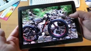 видео Тест-обзор планшета Samsung Galaxy Tab S 10.5