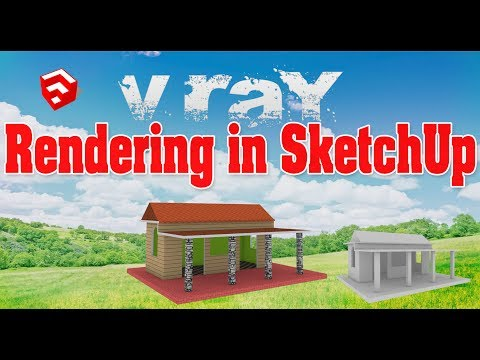 How to Render project in SketchUp.