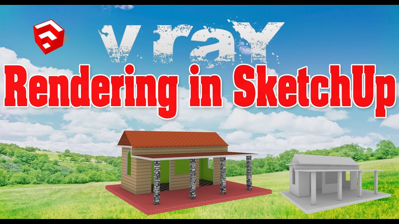 How to Render project in SketchUp