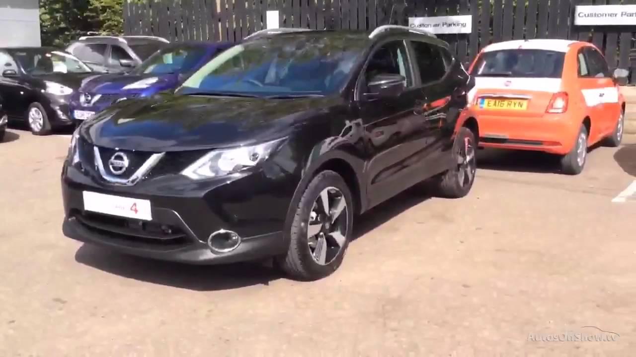nissan qashqai n connecta dig t xtronic black 2016 youtube. Black Bedroom Furniture Sets. Home Design Ideas