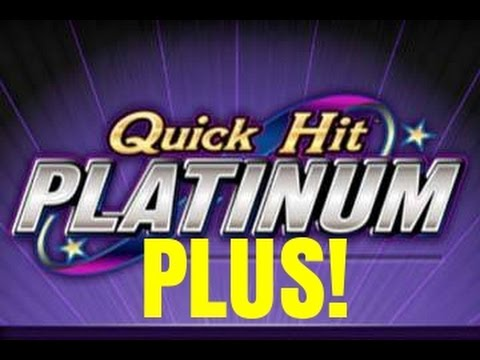 Quick hit platinum plus slot machine