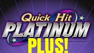 DOLLAR QUICK HIT PLATINUM PLUS SLOT MACHINE-BONUSES