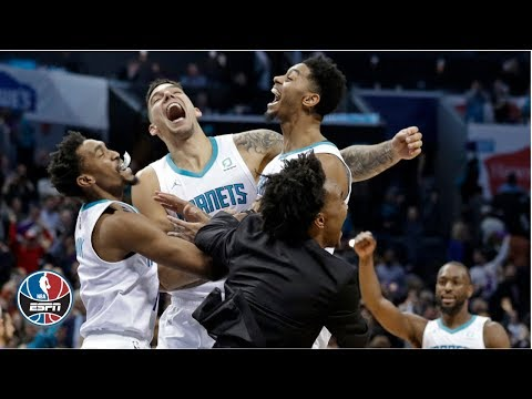 Kemba Walker leads Hornets to comeback win, sets up Lamb for game winner | NBA on ESPN