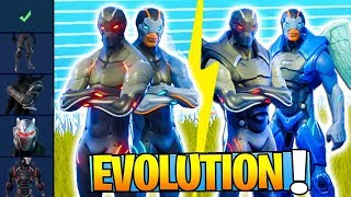 SKINS SECRET EVOLUTION - PALIER 100 DEFIEs on Fortnite: Battle Royale!