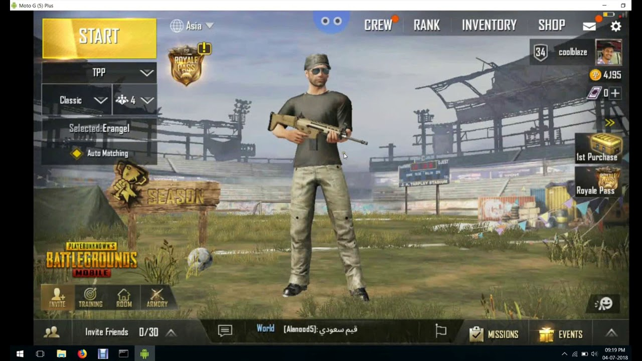 How To Play Pubg Mobile On Pc: How To Play PUBG Mobile On PC Without Bluestacks(without