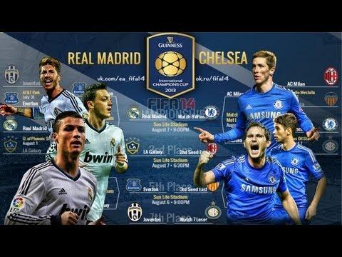 Real Madrid vs Chelsea FC 07/08/2013 International ...