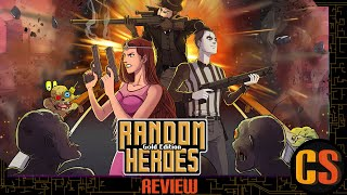RANDOM HEROES GOLD EDITION - PS4 REVIEW (Video Game Video Review)