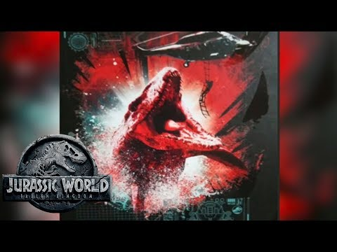 Mosasaur Attacking Helicopter Scene? | Jurassic World 2 New Poster