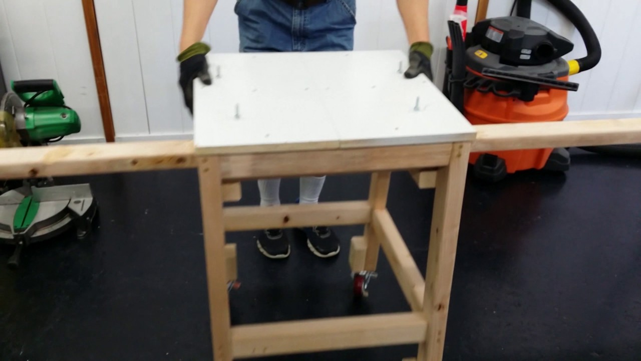 Diy Miter Saw Stand For Less Than 20 Youtube
