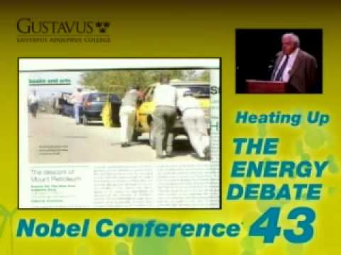 Kenneth S. Deffeyes at Nobel Conference 43