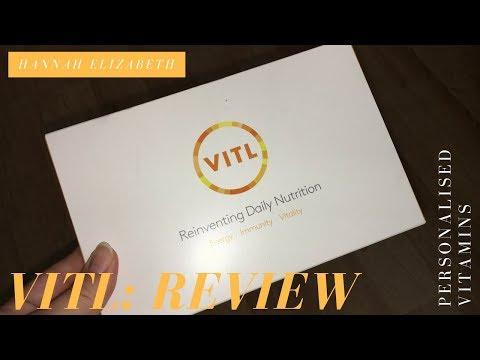 VITL: Personalised Vitamins (Review)