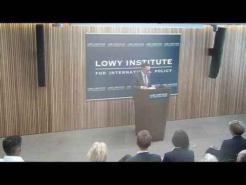 Senator Richard Di Natale's address to the Lowy Institute