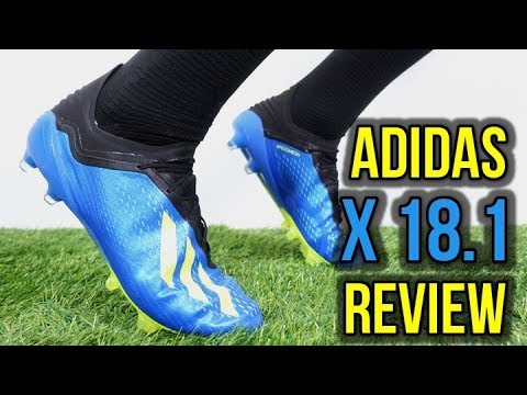 reputable site 800d2 73a6e BALE, SUAREZ & BENZEMA NEW FOOTBALL BOOTS! - ADIDAS X 18.1 REVIEW + ON FEET
