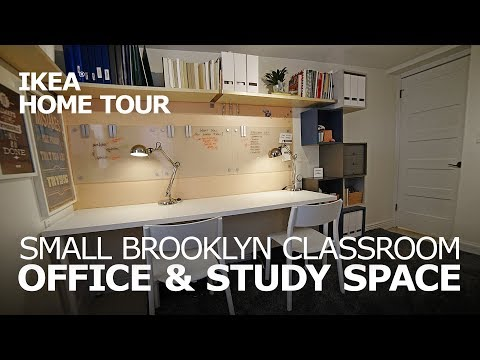 Small Space Office Ideas - IKEA Home Tour (Episode 404)