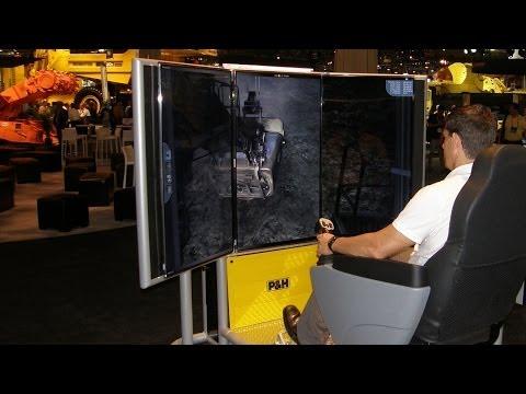 Mining Equipment, Shovel Training Simulator, Demonstration Video