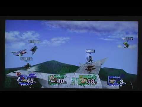 Starfox / Lucas vs Falco / Marth: BRAWL DOMINATION