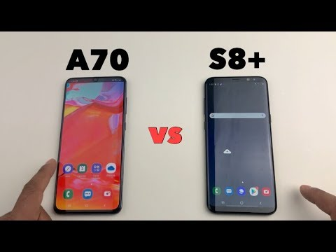 Samsung A70 Vs S8 Updated Software Speed Test Comparison Youtube