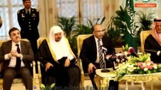 استقبال الوفد الشعبى فى السعودية