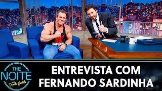 Entrevista com Fernando Sardinha | The Noite (22/10/19)