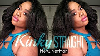 Kinky Blow Out FINAL Review | HerGivenHair