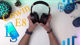 Cowin E8 Active Noise Cancelling Headphone Bluetooth Headphones with Microphone Hi Fi Deep Bass