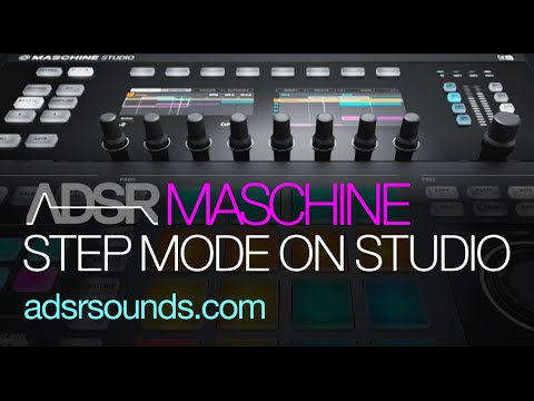 Maschine Tutorial - Step Mode on Studio Hardware