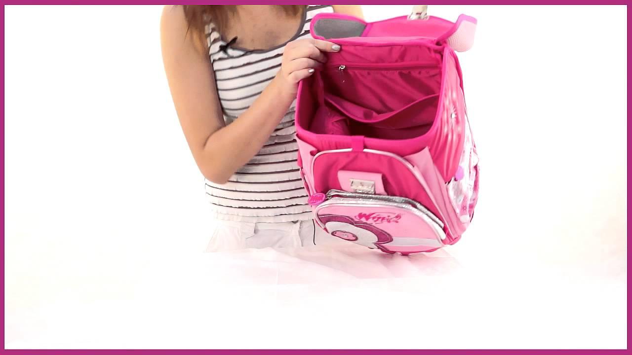 Ортопедический школьный рюкзак винкс 423c1/w выбираем недорогой но хороший рюкзак