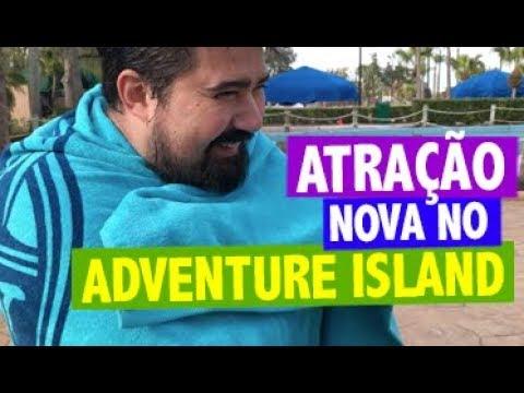 ATRAÇÃO NOVA no ADVENTURE ISLAND | VANISH POINT