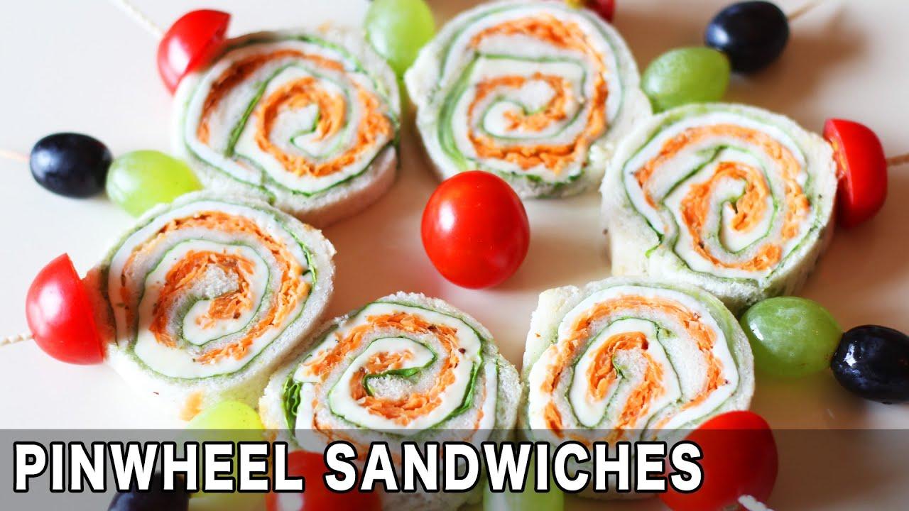 Pinwheel Sandwich Kid S Lunch Box Recipe Quick