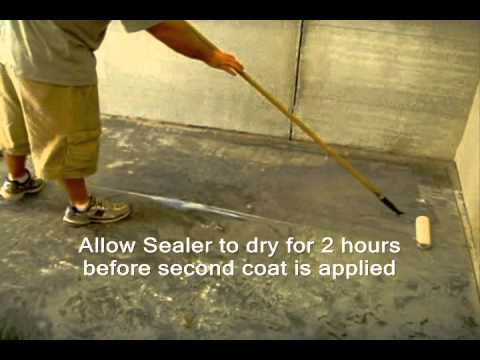 How To Seal A Warehouse Floor With Epoxy Sealer Sg E10 Www Sealgreen 800 997 3873