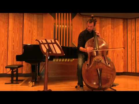 Tim Dunin - Double Bass - David Anderson Capriccio No 2 -  sharing