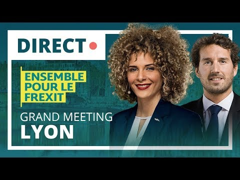 🔴 Direct à Lyon : Grand meeting de la liste Ensemble pour le Frexit