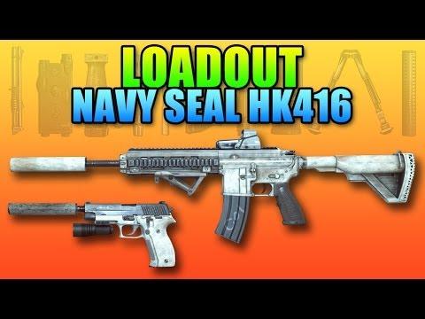 Battlefield 4 - Loadout: Navy Seal M416 & Hi-Tech Gear