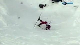 Самое страшное падение с горы