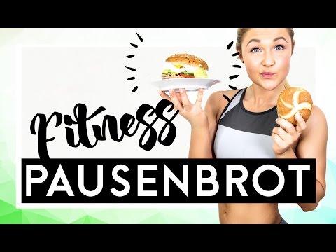 Fitness Pausenbrot   Gesunde Snacks to go   Sophia Thiel