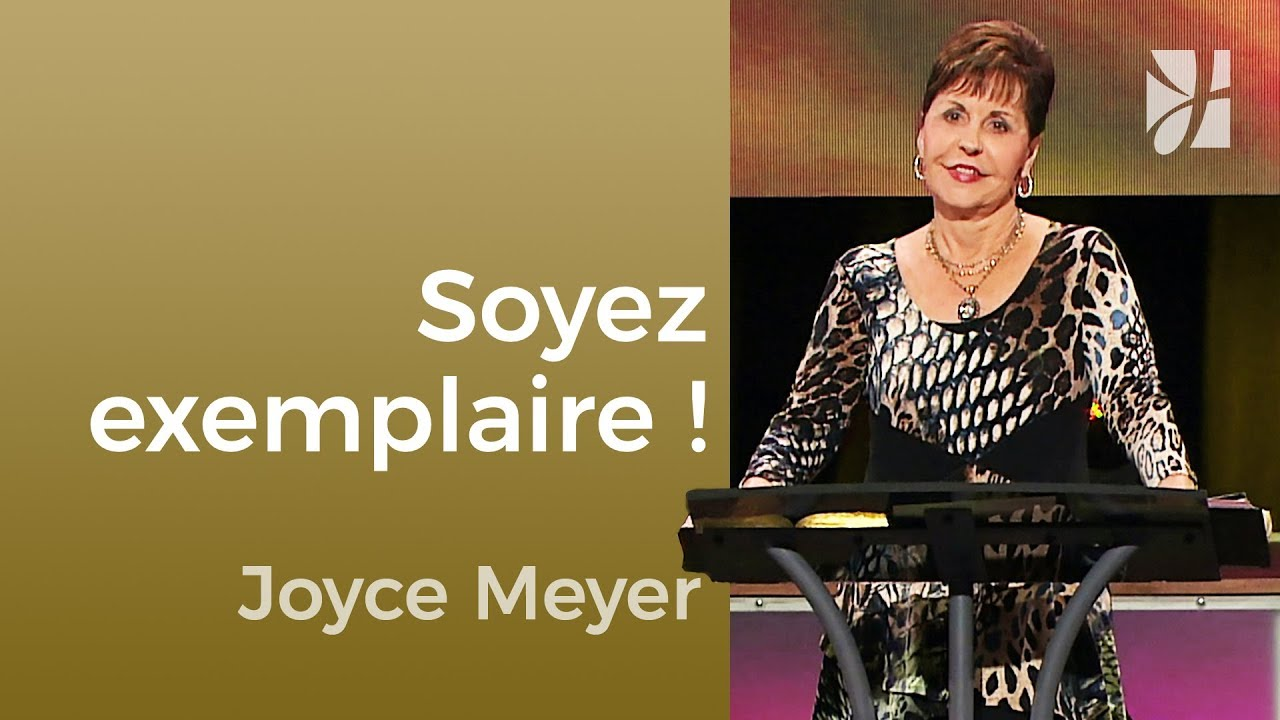 Dans le monde, mais pas du monde - Joyce Meyer - Maîtriser mes pensées