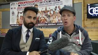 PARALYSED FAN BEN WIMBUSH, ON BOXING FAMILY, OVERCOMING ADVERSITY AND GALLAGHER'S GYM,