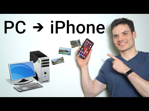 Transfer Videos/Photos from Computer to iPhone 2018! Best & Easy Way.