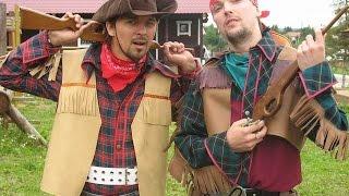 видео Корпоративный отдых Ковбои и индейцы. Тимбилдинг игра в Подмосковье.