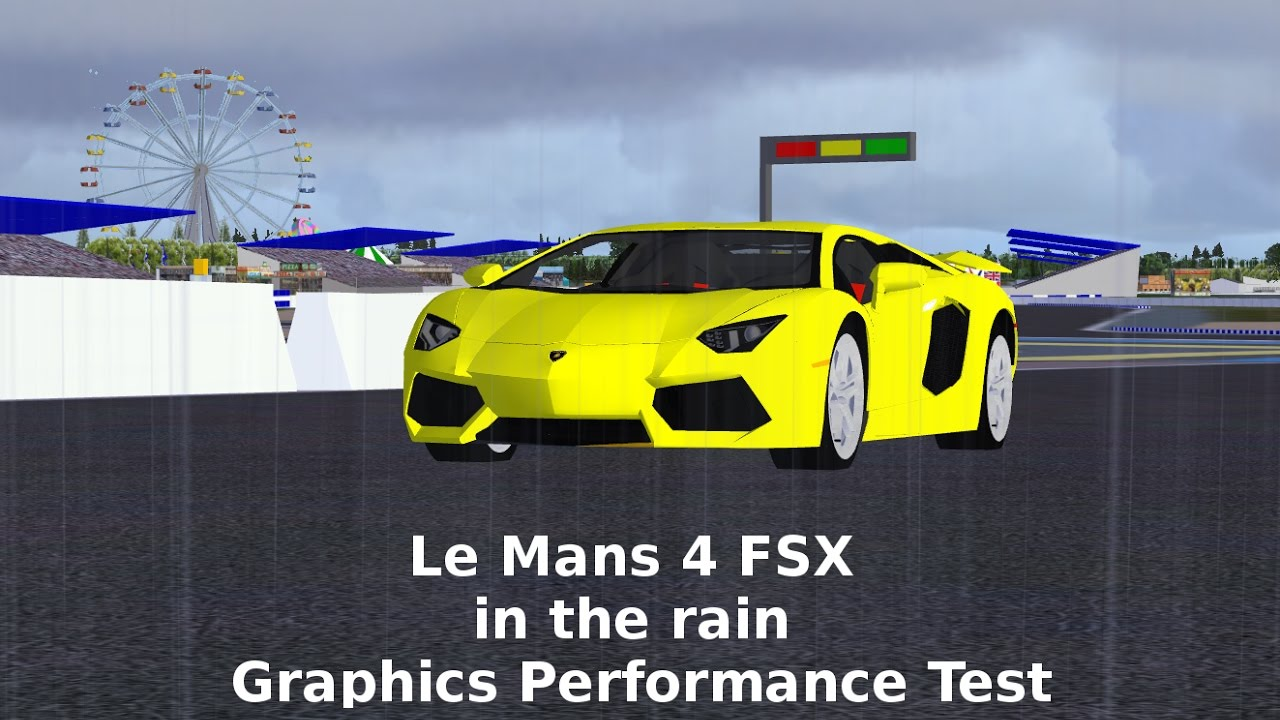 Steam Community :: Video :: Le Mans 4 FSX in the Rain Graphics
