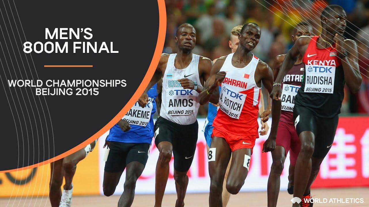 Men's 800m Final   World Athletics Championships Beijing 2015